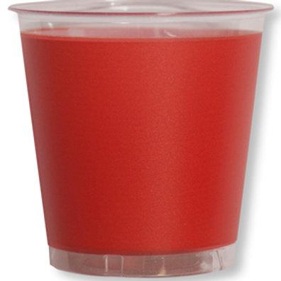 Bicchiere kristal 300cc ROSSO Pz.10