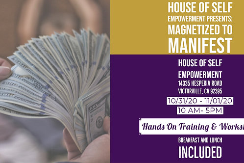 Magnetized To Manifest Workshop