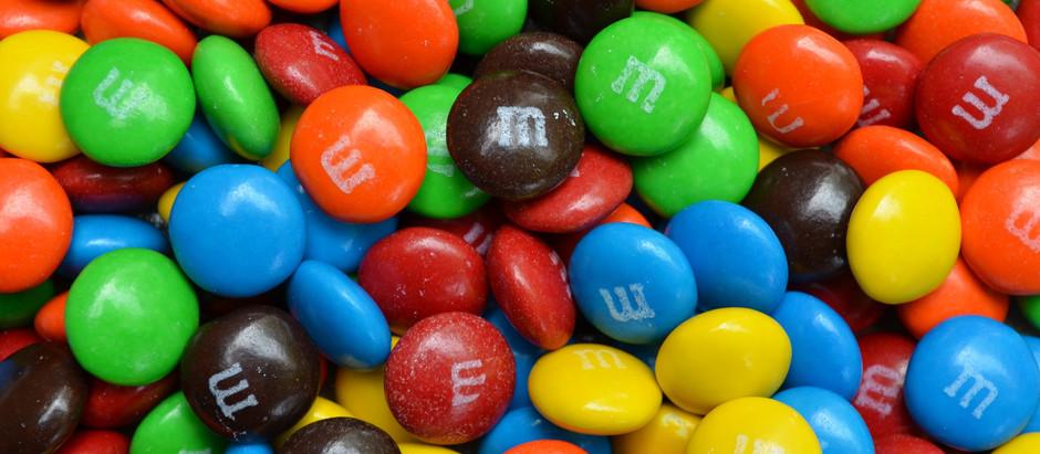 M&M's profuma di cioccolata il suo stores di Londra