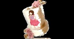 Dancer Birthday Cake
