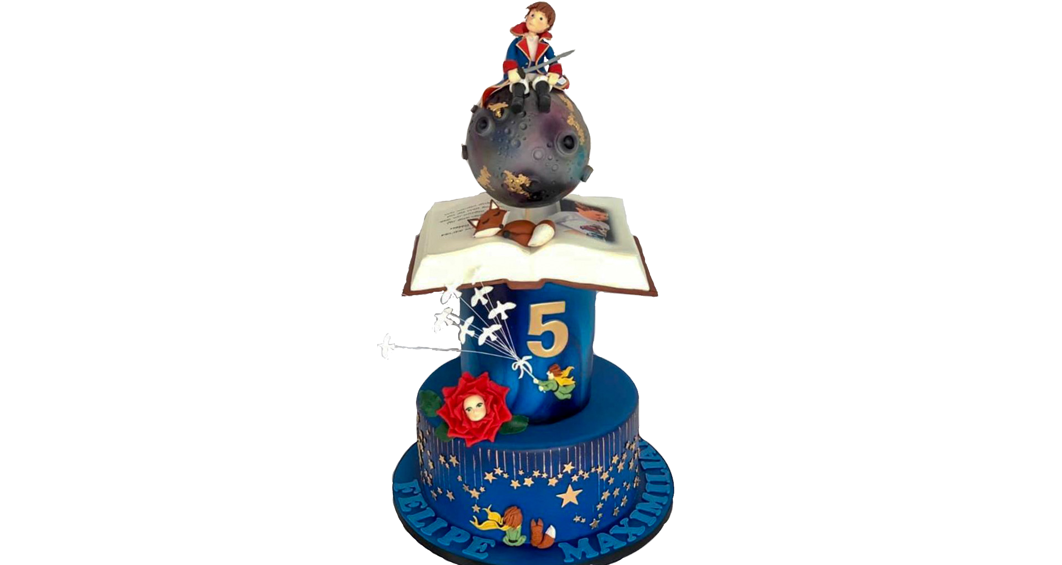 Le Petit Prince themed Birthday Cake