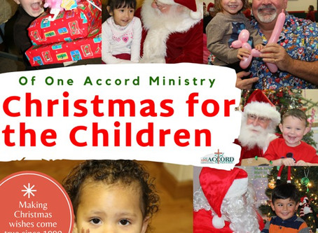 Christmas for the Children Moves to an Online Application Format