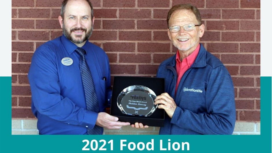Livesay Honored with Lion Heart Award