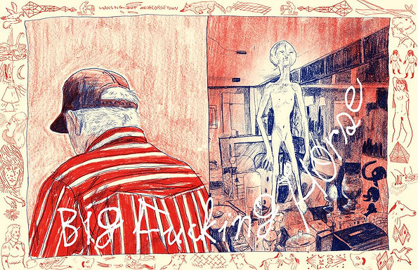 """Rift. presenteert: """"Big Fucking Horse"""" door Ward Zwart"""