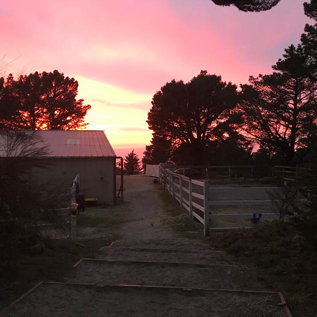 SUNSET 2, LOWER BARN