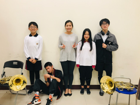 French Horn Ensemble at the KangChiao International School