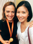 With Sarah Willis at the Beijing International Horn Festival