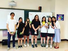 Students from the KangChiao International School
