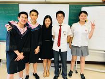 Senior Graduation at the KangChiao International School