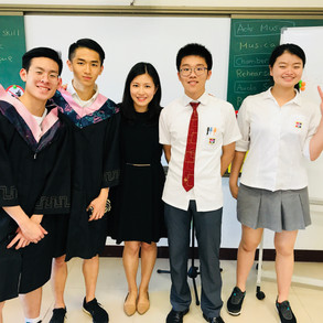 Grad Students from KangChiao International School