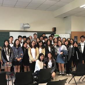 With German Exchange Students