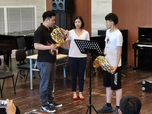Translator for Hongpark Kim at the Beijing International Horn Festival