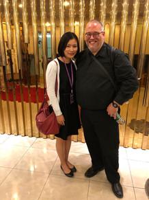 With Andrew Pelletier at the Beijing International Horn Festival