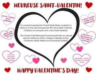 Voeux de Saint-Valentin / Valentine's Day Wishes