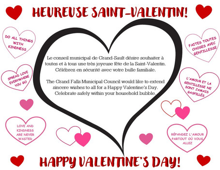 Voeux de Saint-Valentin / Valentine's Day Wishes