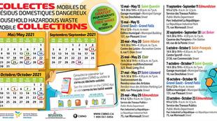 Collectes mobiles de résidus domestiques dangereux / Household Hazardous waste mobile collections