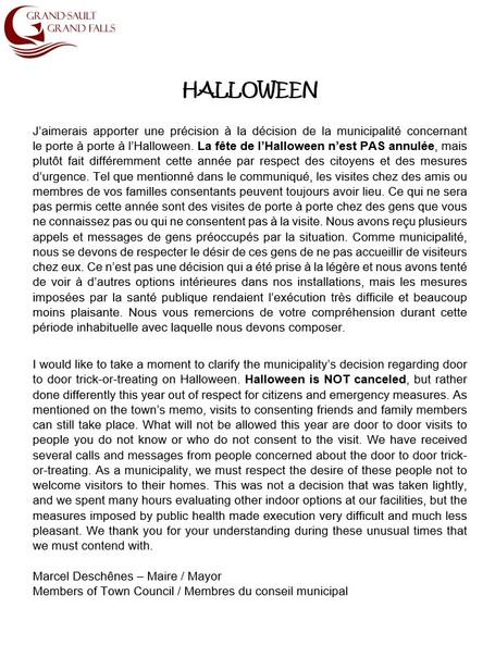 Halloween - info