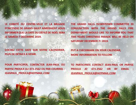 Parade de Noël / Christmas Parade