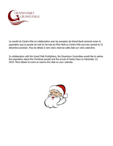 Parade de noël sous les lumières / Christmas parade under the lights