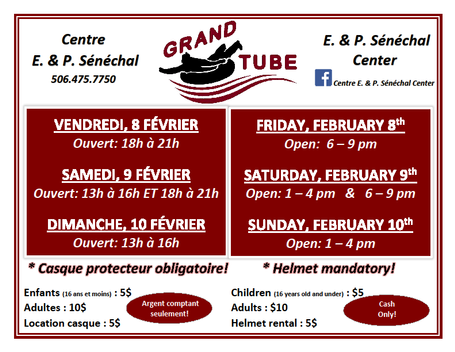 Horaire Grand Tube Schedule
