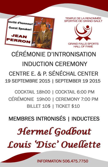 Cérémonie d'intronisation / Induction Ceremony