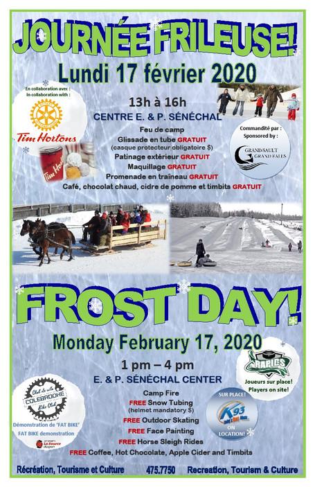 Journée Frileuse / Frost Day