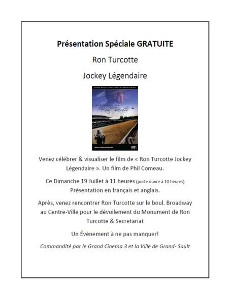 Présentation spéciale gratuite / Free Special Presentation