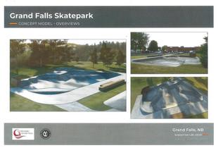 New Skate Park coming in 2021 - Nouveau Planchodrome à venir en 2021