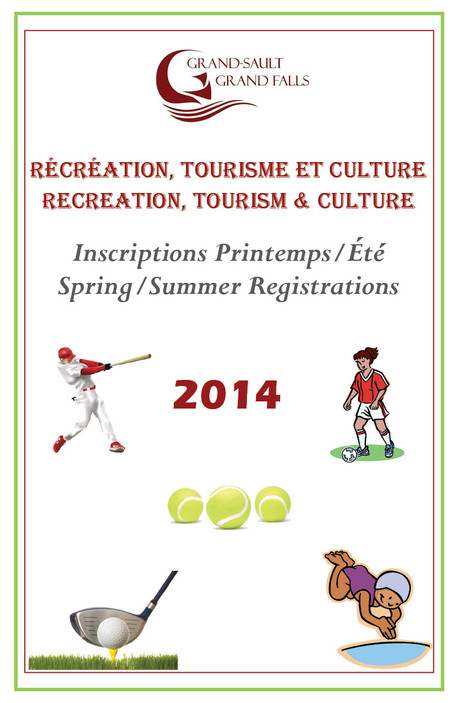 Inscriptions printemps/été - Spring/Summer Registration