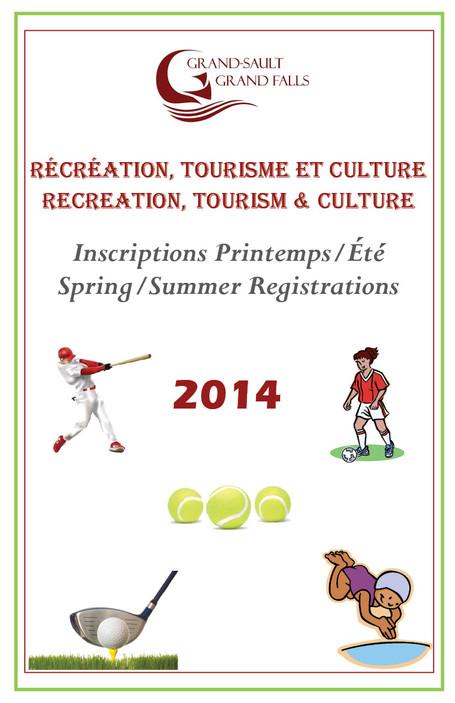 Inscriptions printemps/été - Spring/Summer Registration