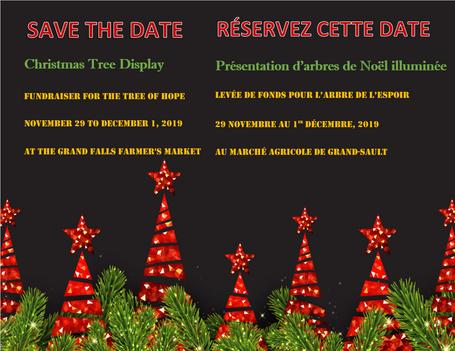 Save the date / réservez cette date