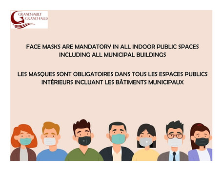 MASQUES OBLIGATOIRES / MANDATORY MASKS