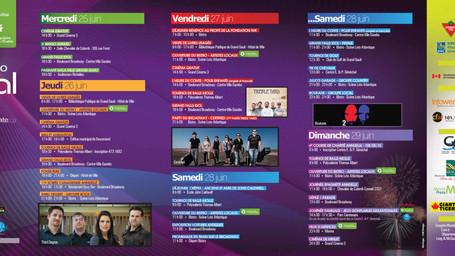 Programme du Festival de la patate