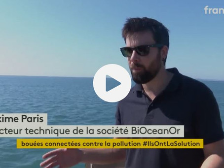 Bioceanor, connected buoys to measure water pollution