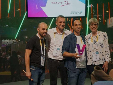 Shiftmapp won the Thalys contest at Vivatech in May 2018