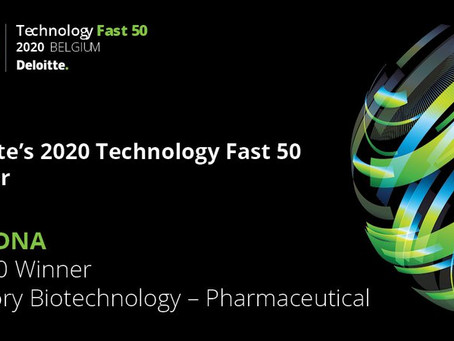 OncoDNA wins the Biotech Award of Deloitte's Fast 50 competition