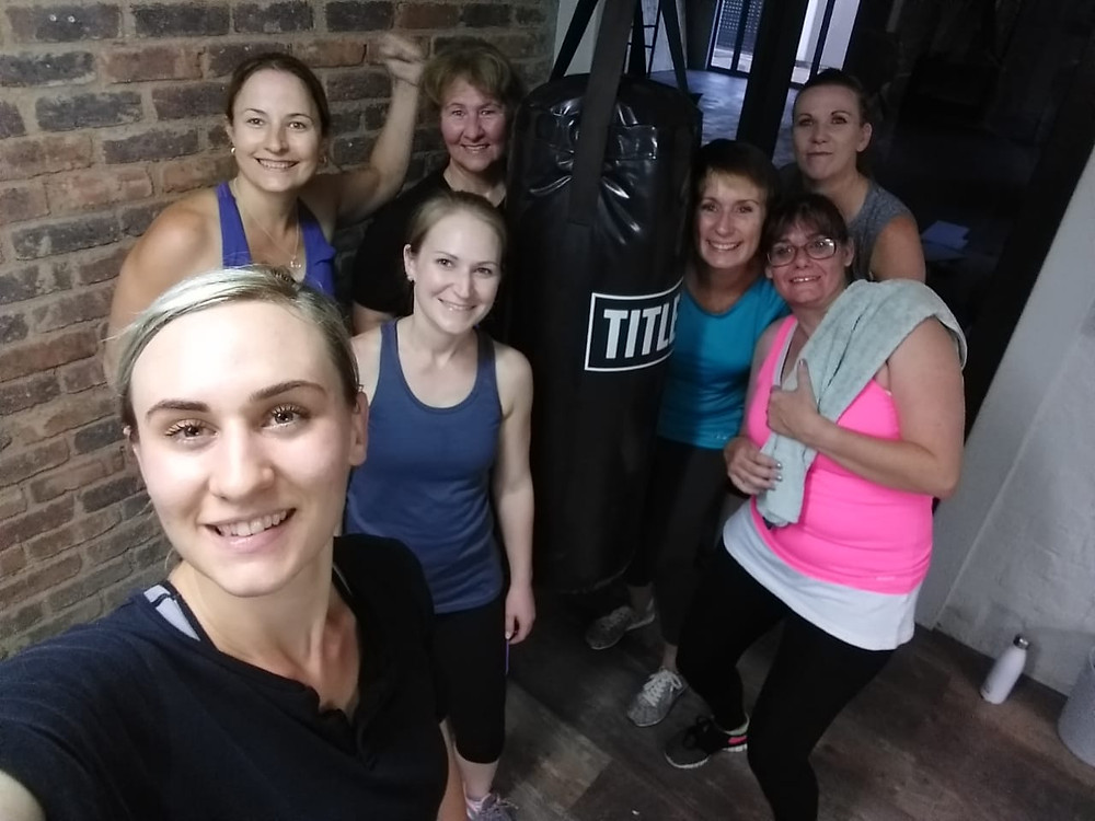 First Fitbox class at World of Wellness