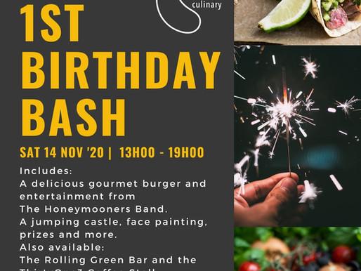 Yum's First Birthday Bash