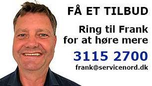 Frank Offersen - ring og hør mere om rengøring