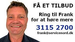 Få besøg af Frank fra Servicegruppen NORD