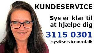 Sys fra kundeservice som er klar til at hjælpe dig
