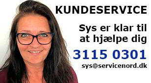 Sys fra kundeservice