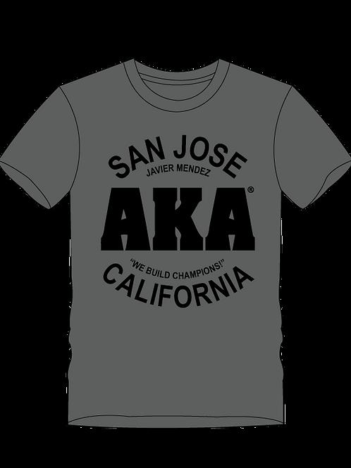 AKA San Jose Men's Grey T-Shirt