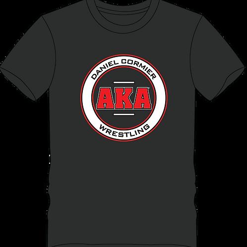 Men's Daniel Cormier-AKA Wrestling Black T-shirt