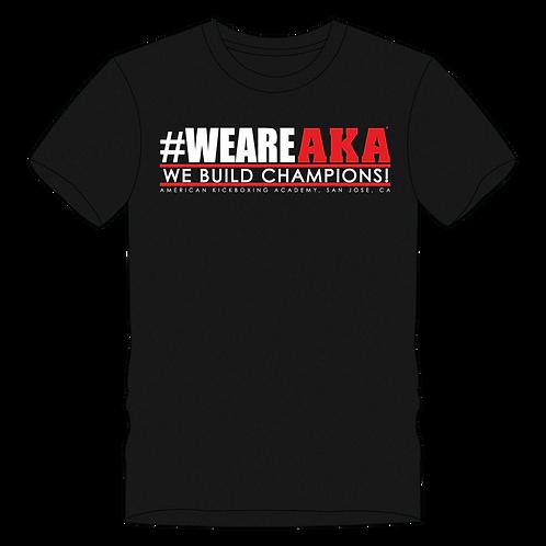 Men's #WEAREAKA Black T-shirt
