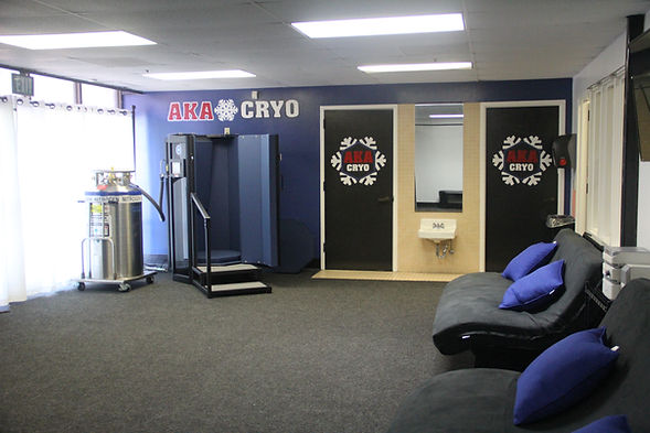 American Kickboxing Association cryotherapy room