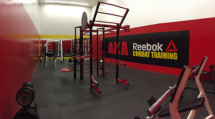 American Kickboxing Association Reebok Combat training room
