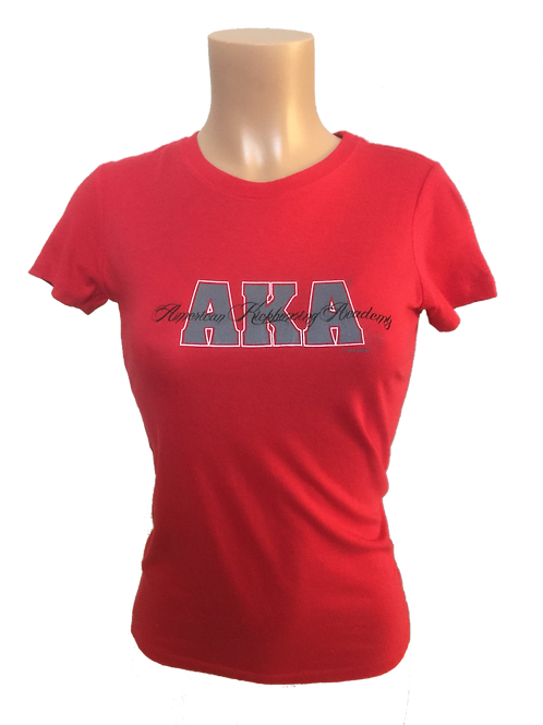 Women's AKA Red T-Shirt - Special Edition