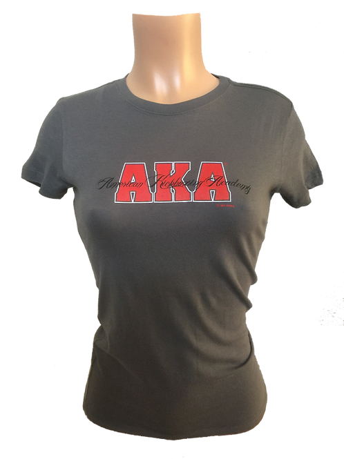 Women's AKA Grey T-Shirt - Special Edition