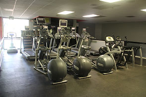 American Kickboxing Association Cardio room with elliptical machines